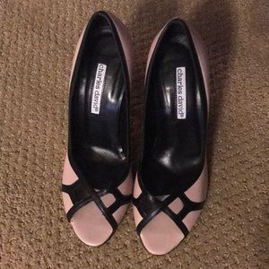 Charles David Cute Dusty Pink High Heels